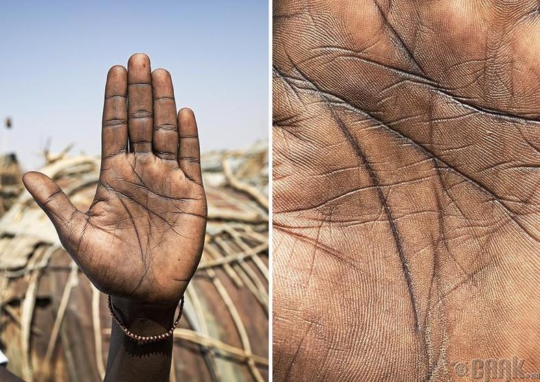 Африкийн нэгэн омгийн охин