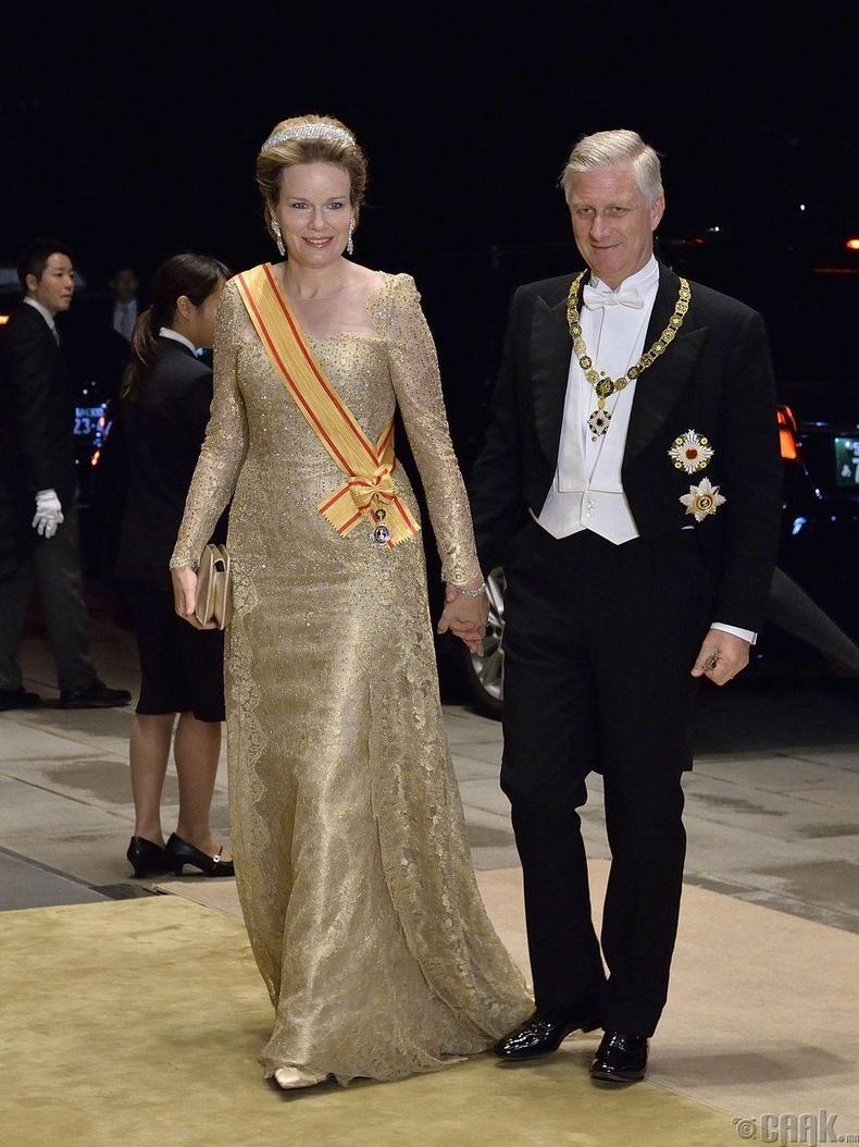 Бельгийн ван Филипп болон хатан Матильдa