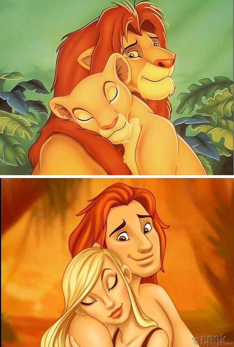 """""""The Lion King"""" - Симба, Нала"""