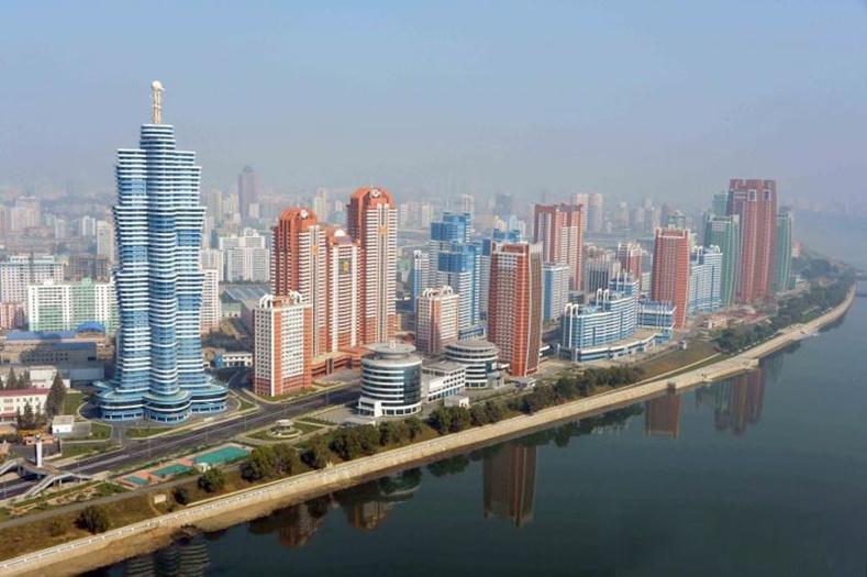 Хойд Солонгосын гайхалтай уран барилгууд