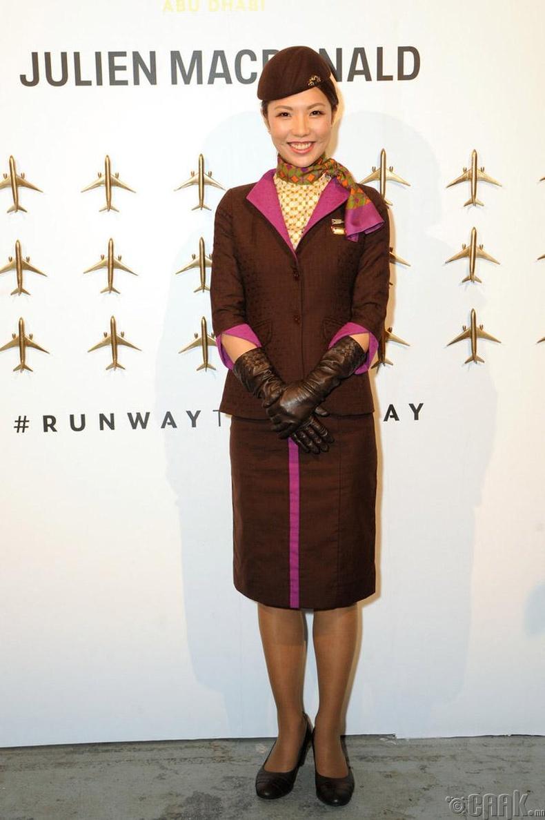 """""""Etihad Airways"""", Арабын Нэгдсэн Эмират"""