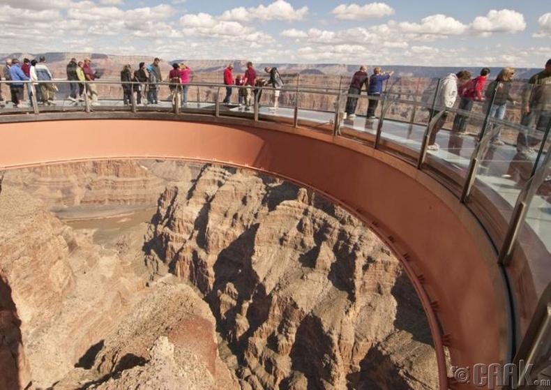"""Grand Canyon Skywalk"", АНУ"