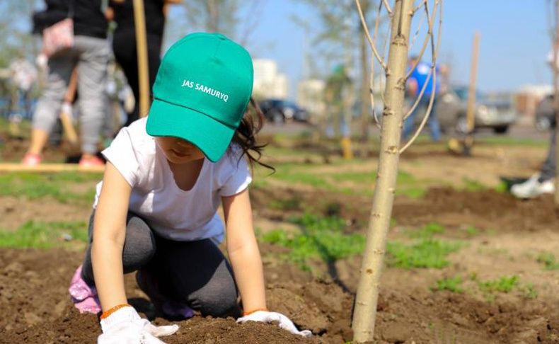 Казахстанчууд 2026 он хүртэл өдөр бүр нэг сая мод тарих нүсэр төслийг эхлүүлжээ