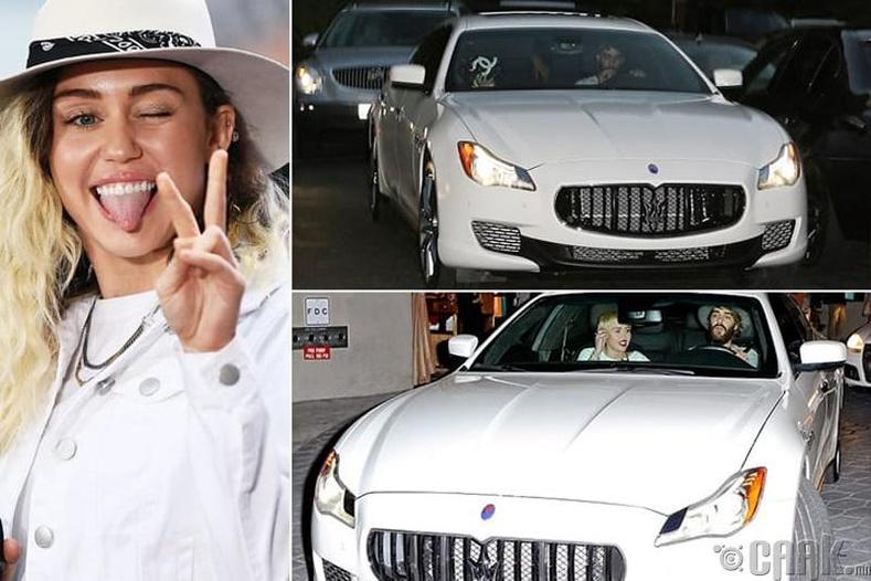 "Майли Сайрус – ""Maserati Quattroporte"" – $140 мянга"