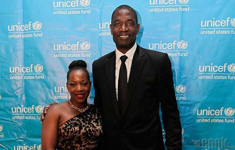 Дикимбе Мутомбо болон Роуз Мутомбо (Dikembe Mutombo, Rose Mutombo)