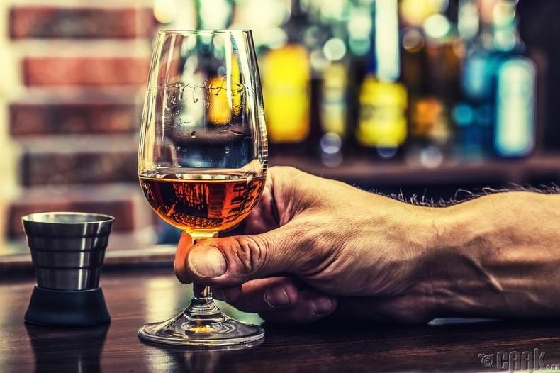 Ганцхан төрлийн Алкохолизм бий