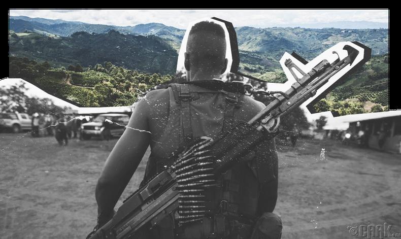 Колумбын иргэний дайн