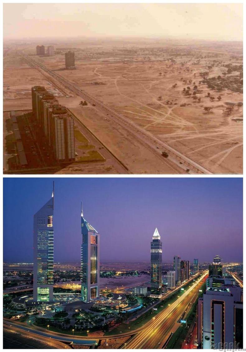 Дубай: 1980 он - Одоо
