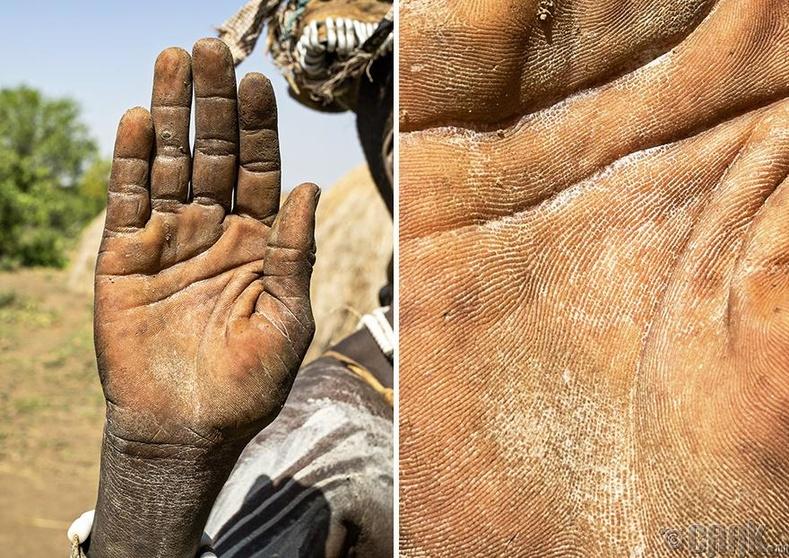 Африкийн уугуул өндөр настай эмэгтэй