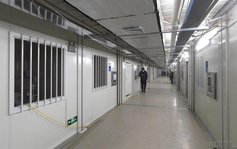 Эмнэлгийн коридор