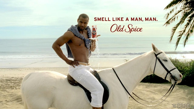 "Old Spice: ""The Man Your Man Could Smell Like"""