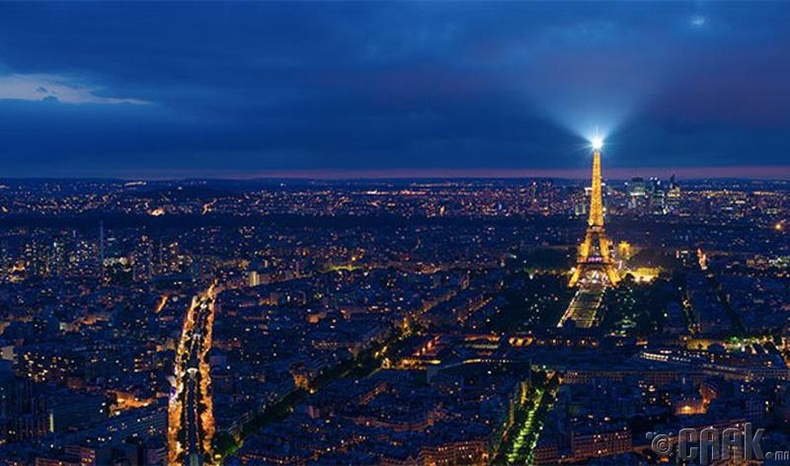 Парис (Paris) хот, Франц улс