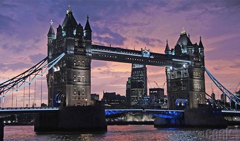 Лондон (London) хот, Англи улс