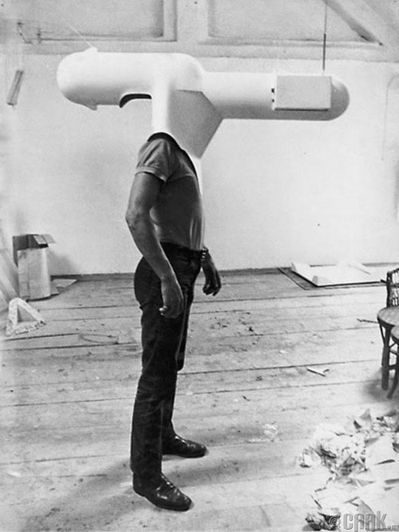 Нэг хүнд зориулсан зурагтны туршилтын хувилбар - 1967 он