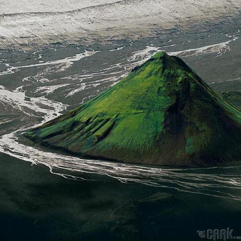 Малифел галт уул, Исланд