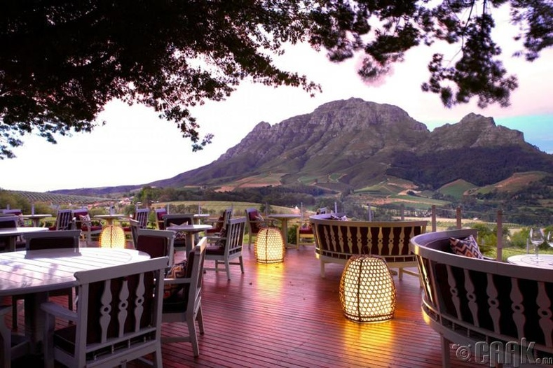 """Delaire Graff"" ресторан - Штелленбош, Өмнөд Африк"