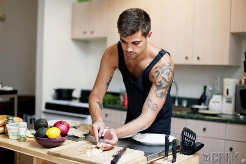 Хоол хийх дуртай эрчүүд