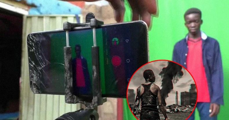 Нигери хөвгүүдийн гар утсан дээрээ хийсэн уран зөгнөлт кино