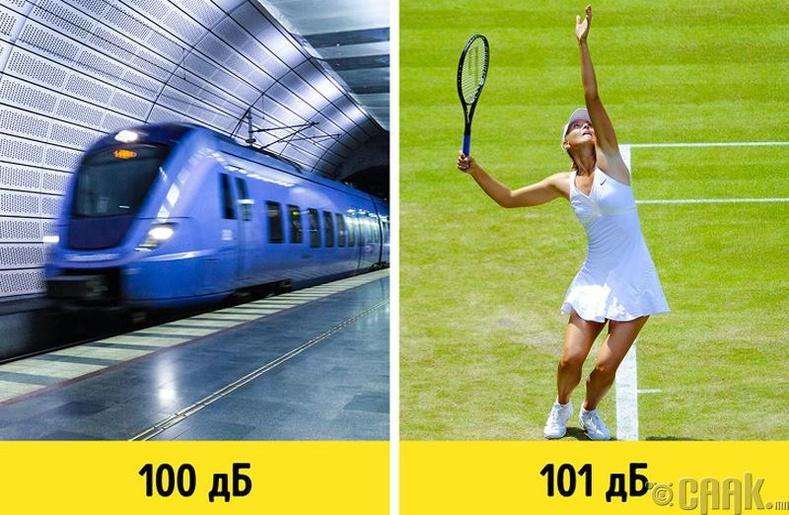 Теннисийн тамирчид яагаад тоглолтын үеэрээ орилдог вэ?