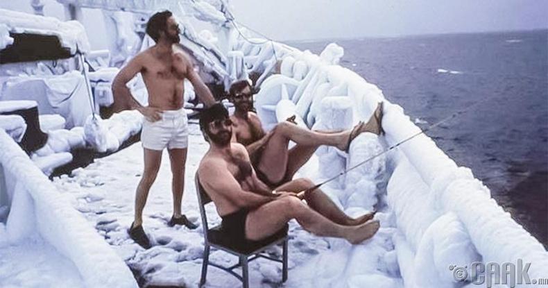 Эцэст нь сануулахад Антарктид тив нь Арктик биш.
