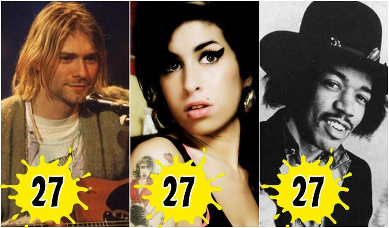 Алдартай уран бүтээлчид яагаад ихэвчлэн 27 насандаа хорвоог орхидог  вэ?