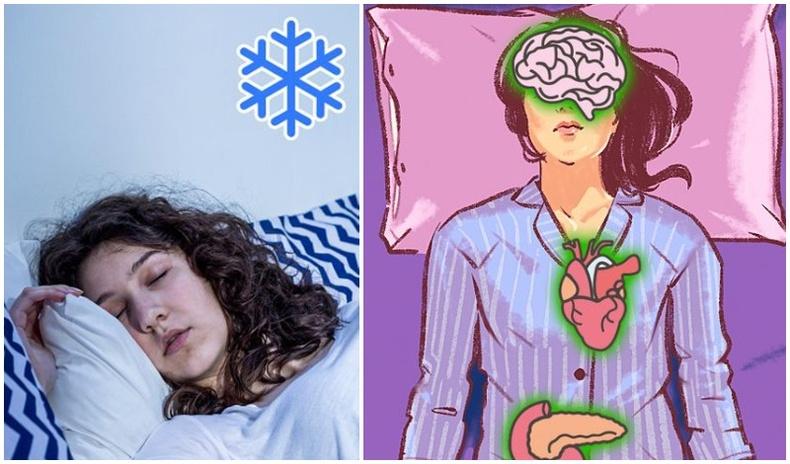 Хүйтэн өрөөнд унтахын 9 ашиг тус