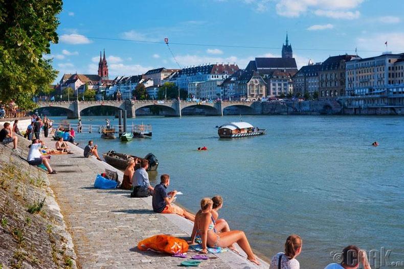 Швейцарь - чанарын түвшин 63.1%