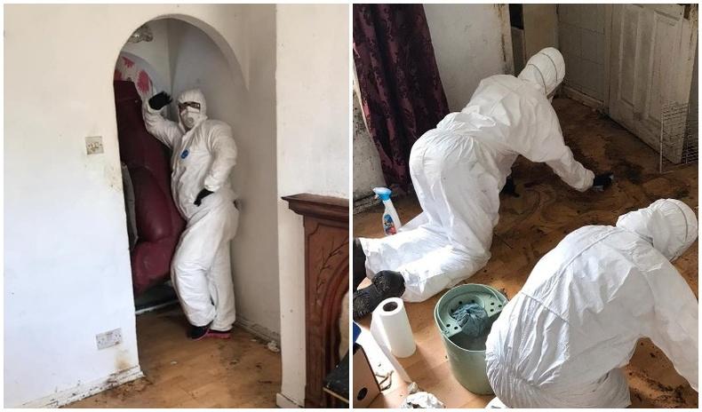 Ганц бие эрийн байшинг мэргэжлийн хүмүүс 50 цаг цэвэрлэсний дараах үр дүн