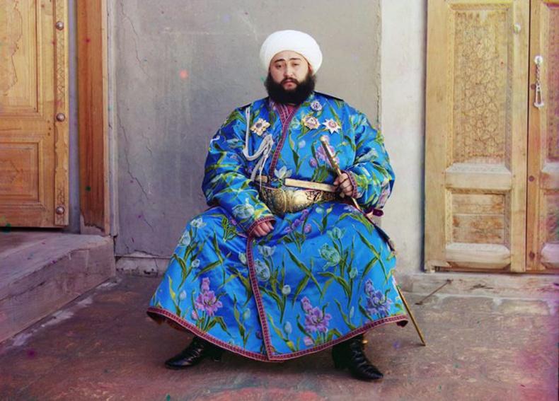 Бухар хотын захирагч Сэиид Мир Мохаммед Алим Хан - 1910 он