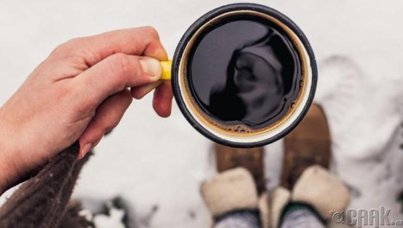 Хэт их кафейн хэрэглэх