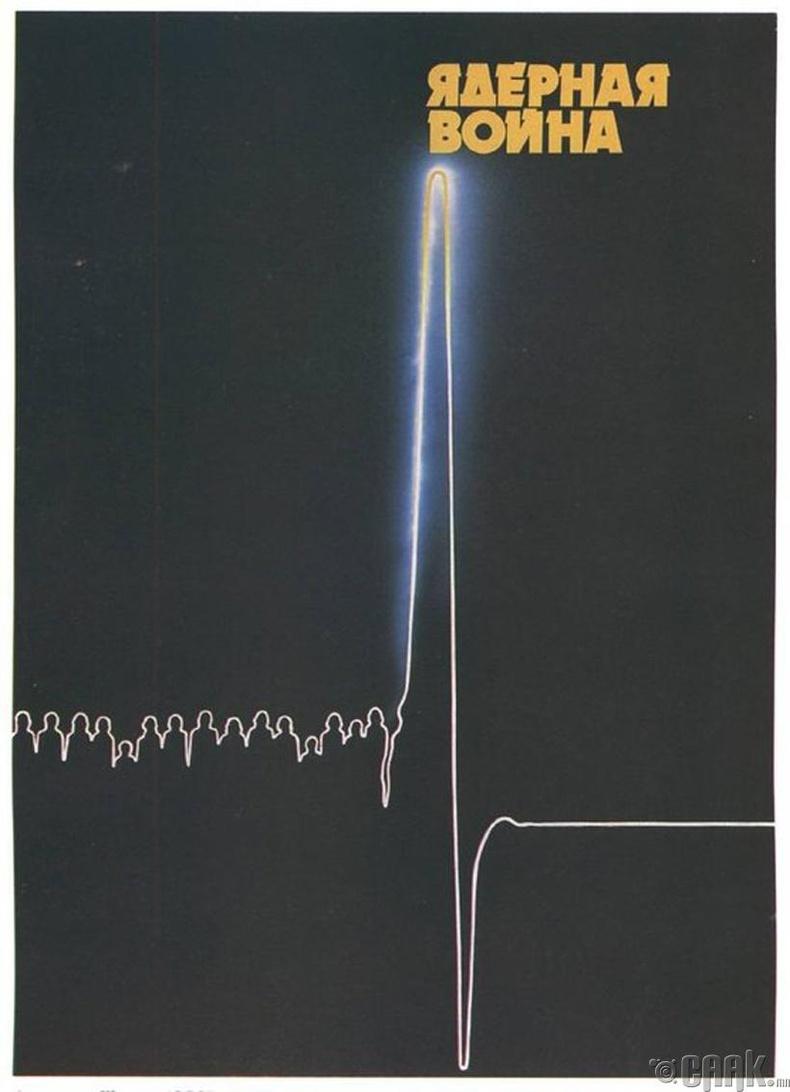 """""""Цөмийн дайн"""" - ЗХУ, 1980-аад он"""