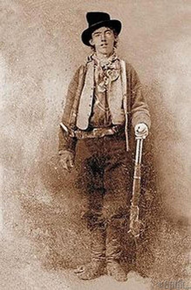 """""""Жаалхүү Билли"""" (Billy the Kid)-гийн хөрөг (1880) - 2.3 сая ам.доллар"""
