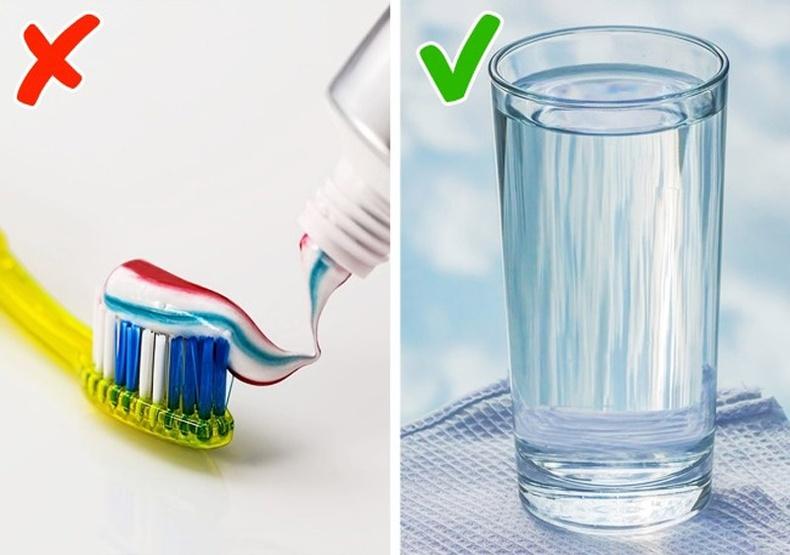 Цай уусны дараа шүдээ угаах