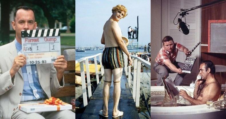 Холливудын алдарт кинонуудын зураг авалтын үеийн ховор зургууд