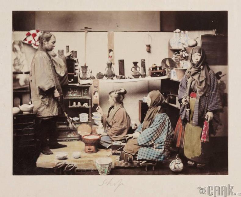 Японы донтогсод, 1865