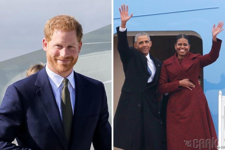 Хунтайж Харри болон Обамагийн гэр бүл