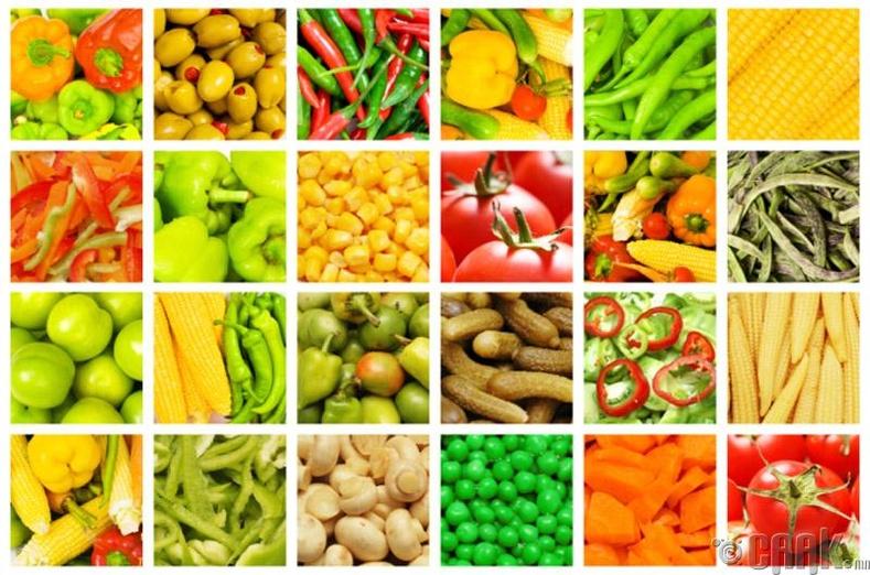 Бид бодохдоо: Шинэ хүнсний ногоо, жимсэнд хөлдөөсөн жимс, хүнсний ногооноос илүү их амин агуулагддаг