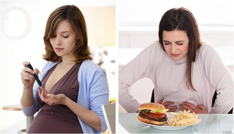 Жирэмслэлтийн үеийн хоолны дэглэм
