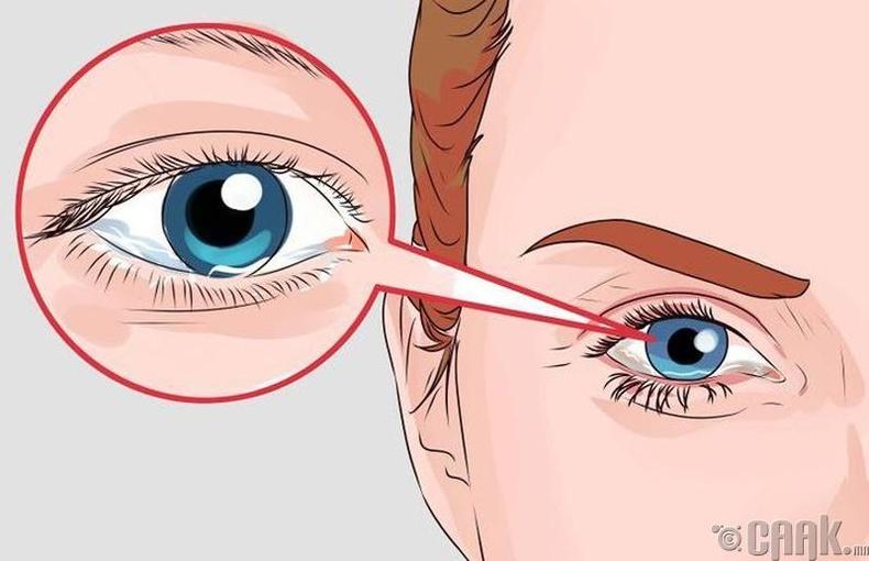 Нүдээр шинжих нь