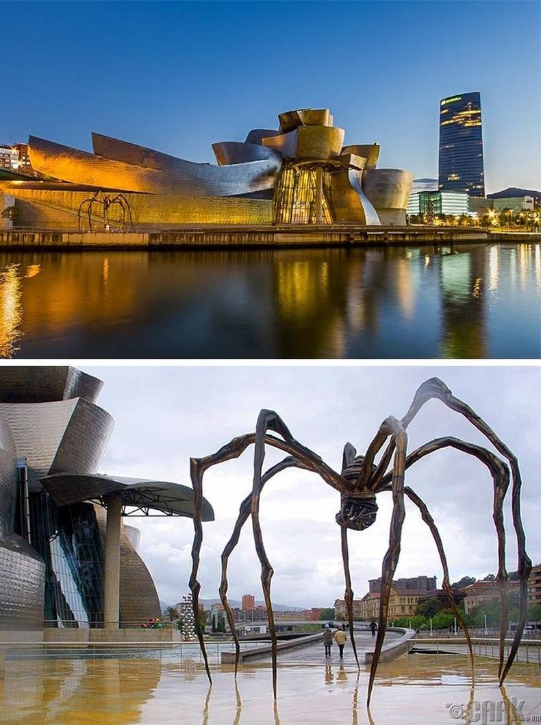Гюггенхаймын музей - Бильбао хот, Испани