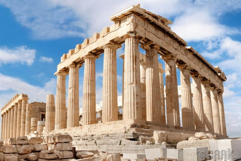 Акрополис балгас, Грек