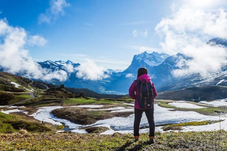 Швейцарын Альпын нуруунд нүцгэн авирвал 100 доллароор торгодог