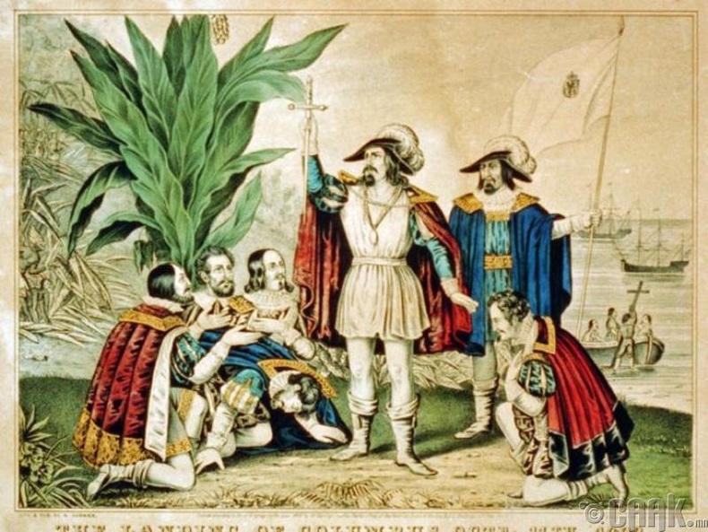 Бид бодохдоо: Кристофер Колумб Америкийг нээсэн