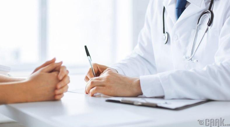 Мэргэжлийн эмчээс зөвлөгөө авах