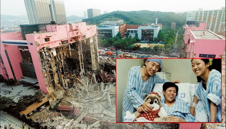 """500 хүнийг авч одсон Солонгосын """"Сампон"""" худалдааны төвийн ослоос амьд үлдэгчдийн хувь заяа"""