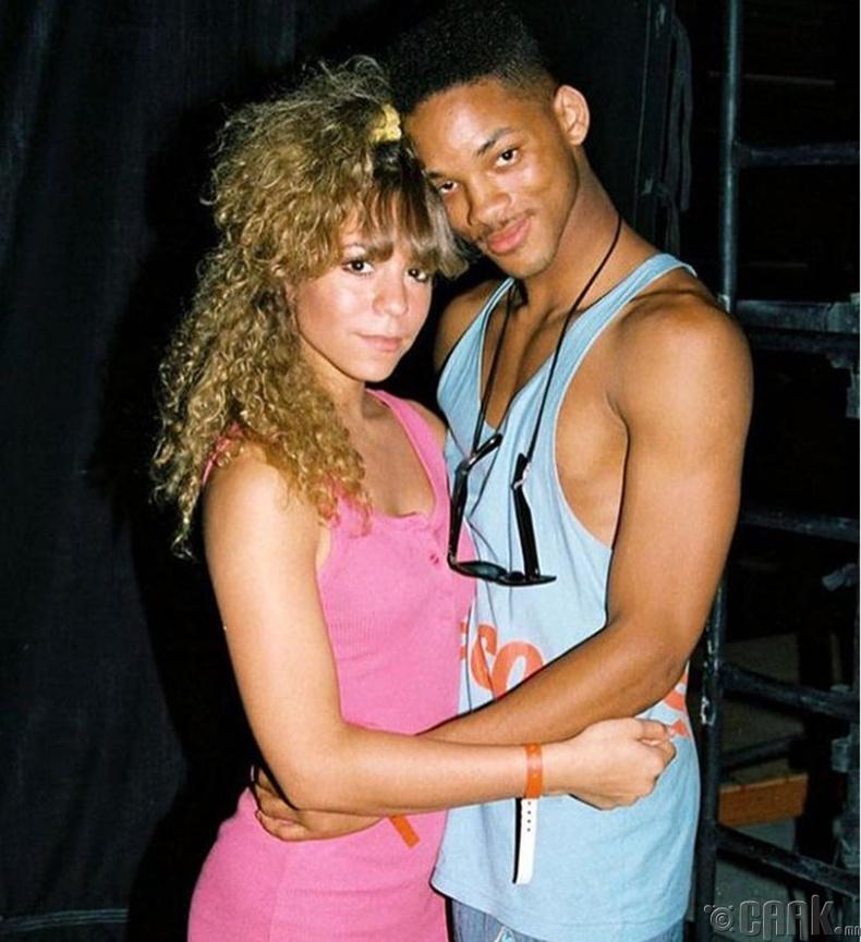Дуучин Мэрайя Кэри жүжигчин Вилл Смит (Mariah Carey, Will Smith) нар - 1988