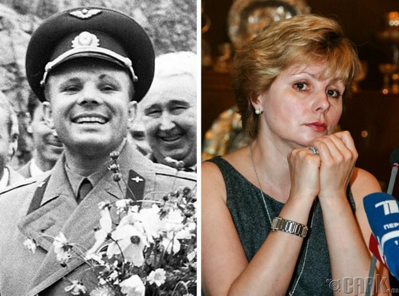 Елена Гагарина, Юрий Гагарины охин