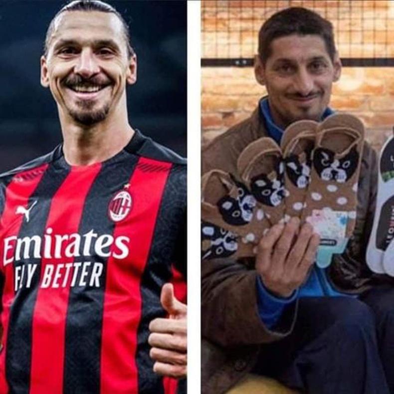 Өөр нэгэн хөлбөмбөгийн од Златан Ибрахимович Болгарт оймсны наймаачин болжээ