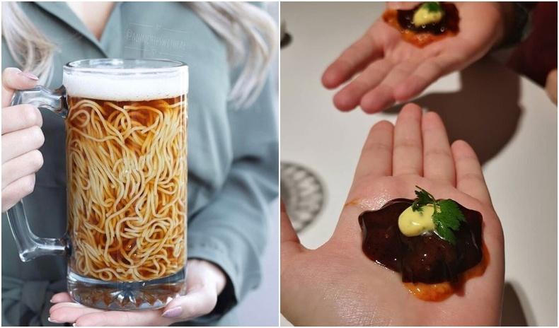 """Тансаг ресторануудад идэж болох """"хэтэрхий"""" гэмээр хоолнууд (35 фото)"""