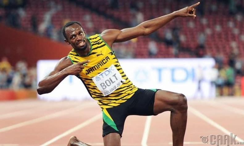 Дэлхийн хамгийн хурдан хүн